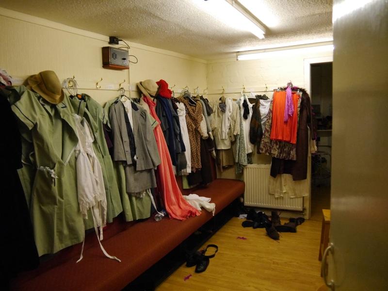 turret theatre dressing room